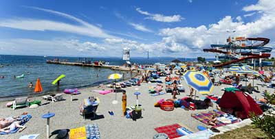 spiaggia a san simon isola
