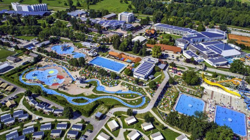 Terme Catez: Il più grande complesso termale naturale della Slovenia sono le Terme Čatež